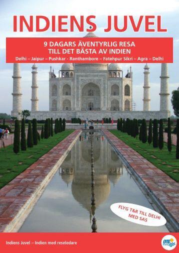 Indien med reseledare - DTF-Travel
