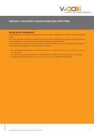 Algemene voorwaarden schadeverzekeringen (AVS-1208) - VvAA