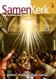 Ik geloof in de Heilige Geest... - Bisdom Haarlem