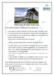 Selskabsmappe 2012 - Helnan International Hotels