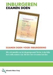 Brochure Examen doen (IBG) - Gemeente Almelo