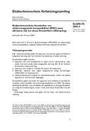 elsäk-fs 2003:2 - Elsäkerhetsverket
