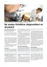 Ny analys förbättrar diagnostiken av druvbörd - Unilabs
