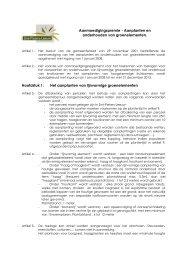 Aanmoedigingspremie - Aanplanten en onderhouden van ...