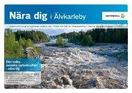 Nära dig i Älvkarleby - Vattenfall