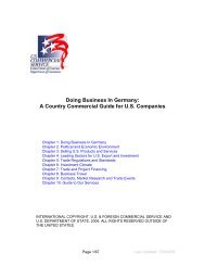 Chapter 1: Doing Business In Germany
