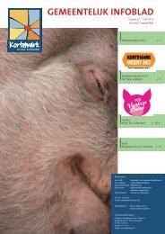 Infoblad uitgave 22: juli 2012 - De gemeente Kortemark