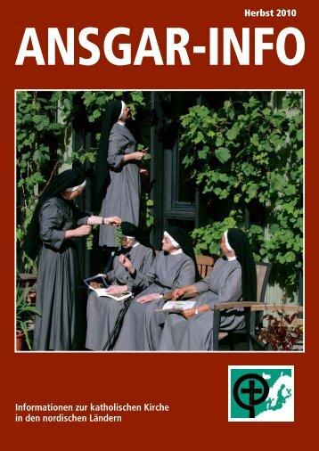 Herbst 2010 Informationen zur katholischen Kirche in ... - Ansgar Werk