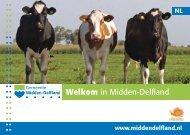 Download boekje Welkom in Midden-Delfland - Cittaslow Nederland