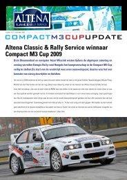 Altena Classic & Rally Service winnaar Compact M3 Cup 2009