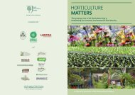 Horticulture MAttErs - Royal Horticultural Society