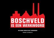 IS EEN WERKWOORD - Boschveld Beweegt