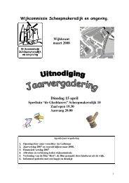maart 2008 - Wijkraad Scheepmakersdijk