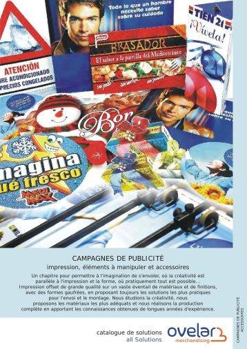 Télécharger fiche PDF - Ovelar Merchandising