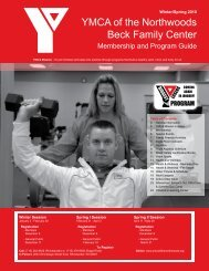 YMCA of the Northwoods Beck Family Center - Hodag Sports