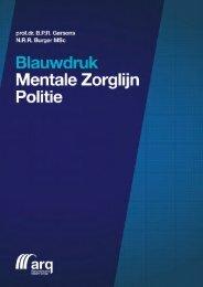 Blauwdruk Mentale Zorglijn Politie - Politievakblad Blauw