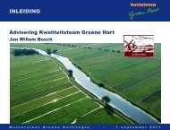 inleidinG - Groene Golflengte 2012