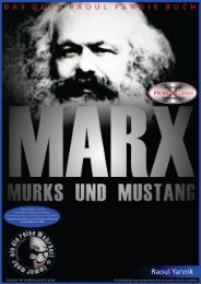 MARX MURKS UND MUSTANG - Frau mit Hut, Bonbonspender und Männer am Stammtisch