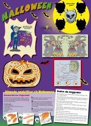 Slimede opskrifter til Halloween