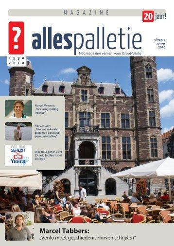 Marcel Tabbers: - Magazine Alles Palletie