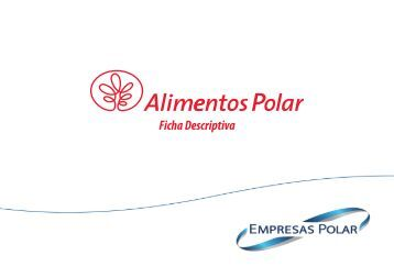 Ficha Descriptiva - Empresas Polar