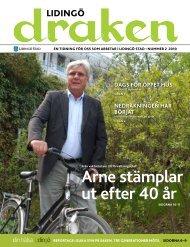 Arnestämplar ut efter 40 år - Lidingö stad