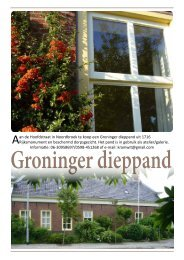 Aan de Hoofdstraat in Noordbroek te koop een Groninger dieppand ...