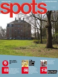 Spots april 2011 - Samen moerbeke sp.a