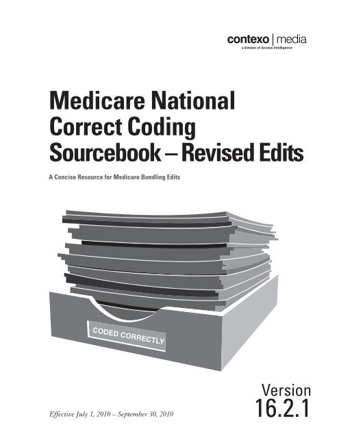 Medicare National Correct Coding Sourcebook - Revised Edits