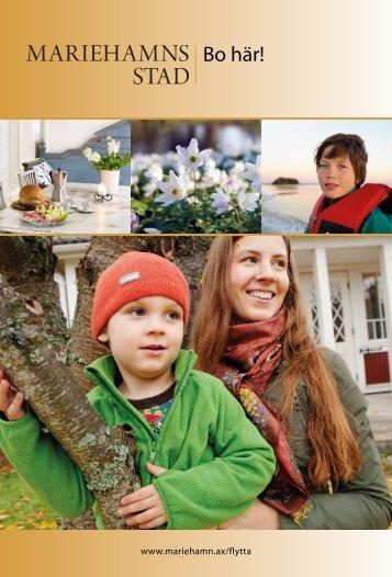 Bo här! Faktablad om lediga tomter - Mariehamns stad