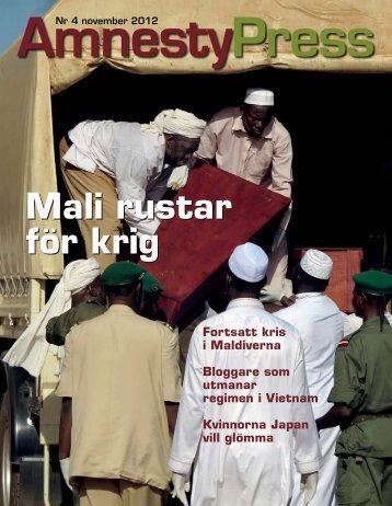 Mali rustar för krig Mali rustar för krig - Amnesty International