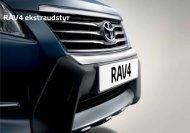 RAV4 ekstraudstyr - Bil og co