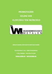 PROMOFOLDER GELDIG VAN 01/07/2013 TEM 30/09/2013
