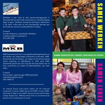 Bekijk hier de brochure Startbaan - Regio College