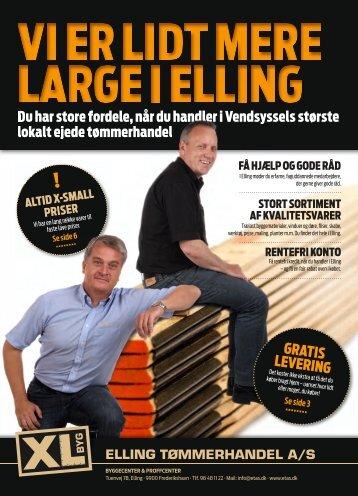 gratiS leVering - XL-BYG Elling Tømmerhandel