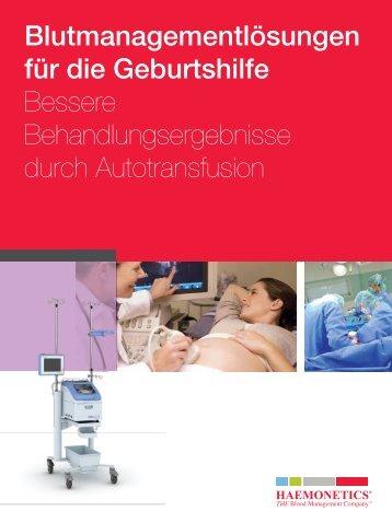 Blutmanagementlösungen für die Geburtshilfe Bessere ...