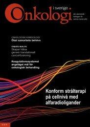 Nr 5 2011 - Onkologi i Sverige