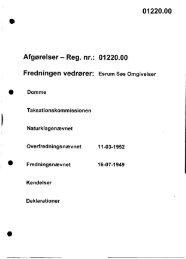 01220.00 Afgørelser - Reg. nr.: 01220.00 ... - Naturstyrelsen