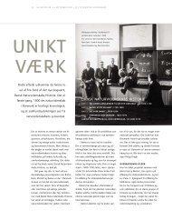 DANSK NATURVIDENSKABS HISTORIE - Aarhus Universitet