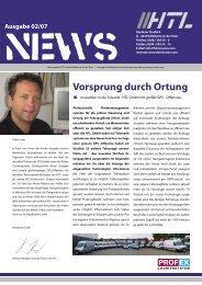 Vorsprung durch Ortung - Heubach Transport Logistik GmbH