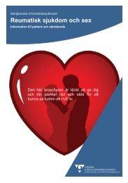 Reumatiska sjukdomar och sex - Sahlgrenska Universitetssjukhuset