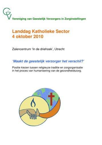 Landdag Katholieke Sector 4 oktober 2010 - VGVZ