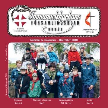 Församlingsbladet 5-10 - Svenska Missionskyrkan