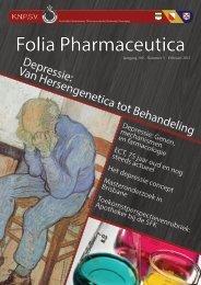 Folia jaargang 100 - Nr.3 - 2013 - Koninklijke Nederlandse ...