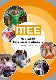 de digitale versie van het jaarverslag - MEE Twente