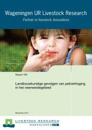Rapport Landbouwkundige gevolgen van peilverhoging downloaden