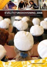 KVALITETSREDOVISNING 2008 - Norrköpings kommun