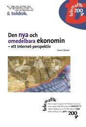Den nya och omedelbara ekonomin – ett INTERNET ... - Teldok