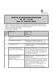 5 - skolebestyrelsesmøde den 11 februar 2013 referat - Asgård Skole