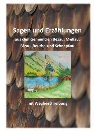 Broschüre Sagen